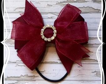 Ballet Bow 3 inch Double Pinwheel Bow