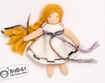 Little Waldorf doll - traditional wadorf doll, dreassable