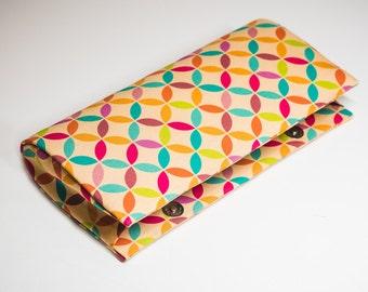 Squareflor Print Clutch bag