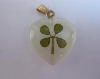 14 K Four Leaf Clover Necklace