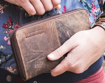 Vintage Leather Continental Wallet