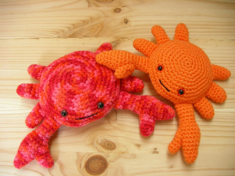 Amigurumi Crab : Amigurumi Crab Crochet Crab Amigurumi Softie crochet