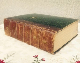 1909 French Law Book//Jurisprudence Generale///Antique 1909 Edition//Collectible Law Books//Law Reference Book//Found And Flogged