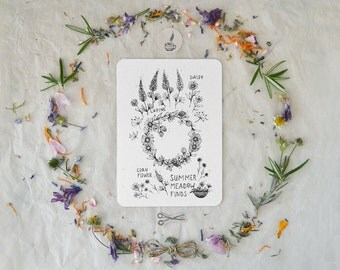 Summer Meadow Finds - Card