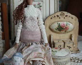 Handmade Tilda Doll Clara