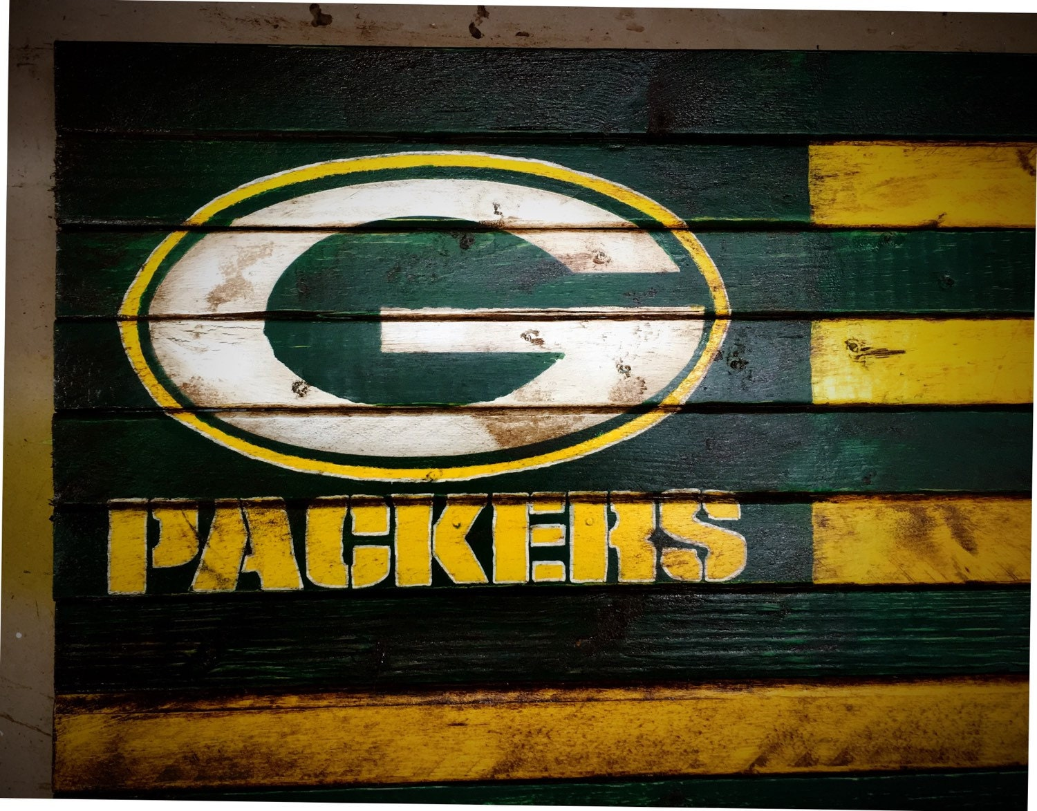 Green Bay Packers Flag, Green Bay Packers Sign, Green Bay Packers Wood Sign, ...