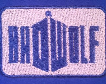 Dr Who Bad Wolf Patch