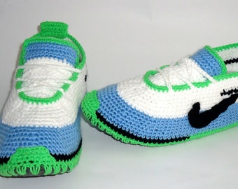 Shoes for Adult#Crochet Adult Shoes#Green Shoes, Adult Slippers, Slippers Home, Comfortable Sneakers, Warm Shoes, Mens Shoes,