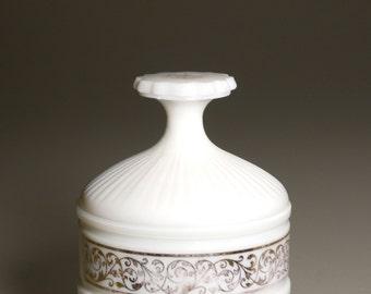 Covered Ceramic Jar