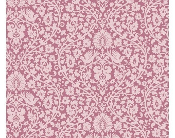 Tilda Apple Bloom Addie Pink Cotton Fabric by Tone Finnanger