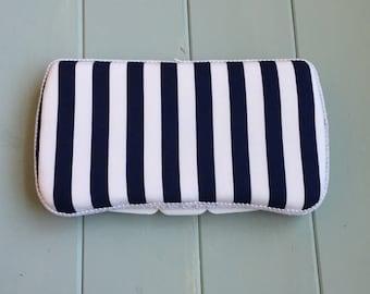 Navy Blue White Stripes, Wipe Case, Wipes Case, Baby Wipe Case, Wipes Holder, Travel Wipe Case, Baby Wipes Case, Baby Gift, Babyshower
