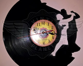Vinyl Wall Clock Dance Me To The End Of Love