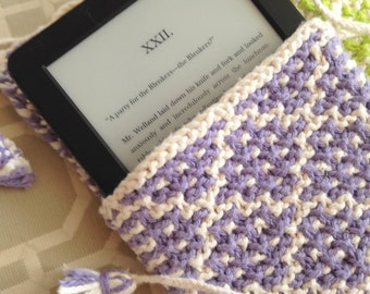 Kindle Sleeve - Lilac Mosaic