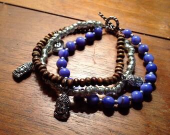 Buddha Charm Gypsy Bracelet