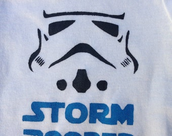 Star Wars Storm Pooper Onesie and Shirt