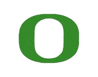 Oregon Ducks football Embroidery Design, 4x4, Instant Download