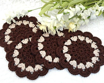 Crochet Placemat Crochet Coasters Kitchen Doilies Crochet Doily Round Placemat Home Decor Tablecloth Crochet Tablecloth Women Gift