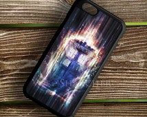 Tardis Dr Who Light Art case for iPhone case, Samsung Galaxy Case, iPod Case, HTC Case, Sony Xperia Case