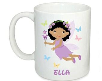 Personalised kids mugs, fairy mug, 6oz mugs, kids cup, 11oz kids mugs, pary favors