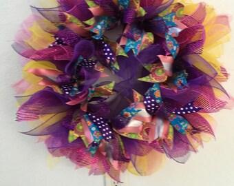 Flirty summer wreath