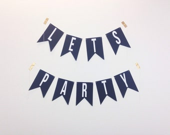 Lets Party Banner