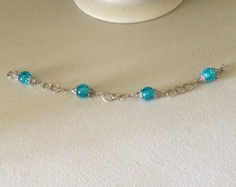 2nd Sunday Collection- Turquoise Chain Bracelet