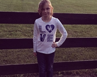 Kids longsleeve, Kentucky kids longsleeve, kentucky pride, kentucky wildcats, wildcats