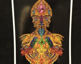 fac3 metallic print