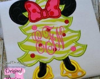 Minnie Christmas Tree Shirt