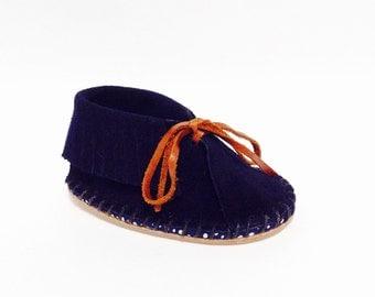 Navy Midnight SOIYL Baby Toddler Moccasin