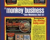 1973 Sell Sea-Monkey Kits Business Vintage Look Reproduction Metal Sign