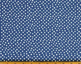 Free Shipping - Dear Stella Navy Confetti Dots
