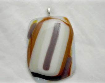 Handmade Fused Glass Pendant