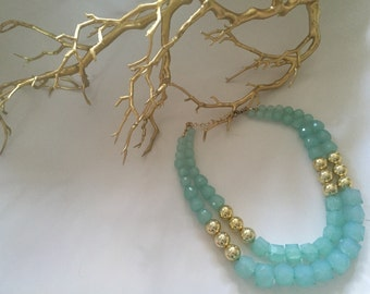 Turqoise color necklace