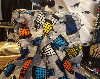 Dr. Who Daleks bag