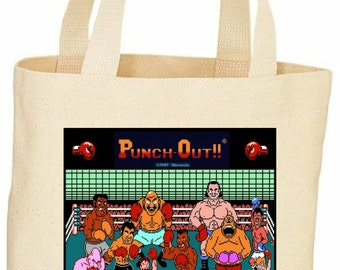 Mike Tysons Punch out custom tote bag