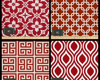 Red Pillow Cover // Indoor - Outdoor