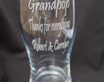 Personalised pint tankard / glass, engraved gift, fathers day gift, personalised glass,pint glass, mens tankard,engraved glass,gift for him