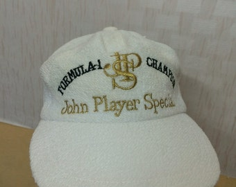 Vintage John Player Special Formula One Racing Team Cap
