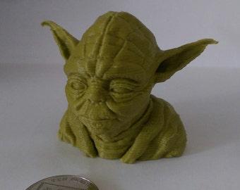 3D Printed Yoda Bust