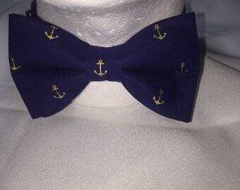Anchor Bow Tie