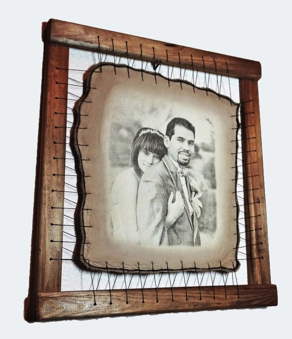Wedding Gifts For 8th Anniversary : Wedding Gift Personalized Wedding Gift for Couple Custom Portrait ...