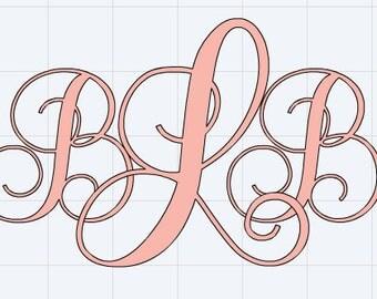 Monogram-Cursive