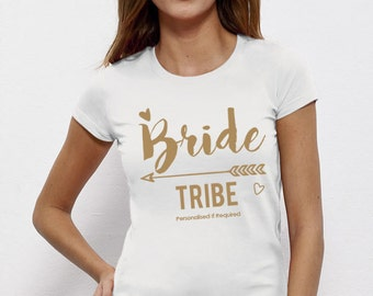 Bride Tribe, Bride To Be, Fiance, Feyonce, Wedding, Hen DO, Girls Party, Tee, T-Shirt, Top