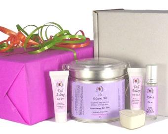 Sleep Gift Basket | Sleep Set | Gift Hamper | Lavender Gift Set | Spa Gift Basket | Aromatherapy Gift Box | Bath and Body Gift Sets