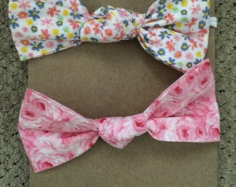 2 pack floral bows