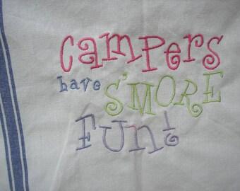 Camper Dishtowel