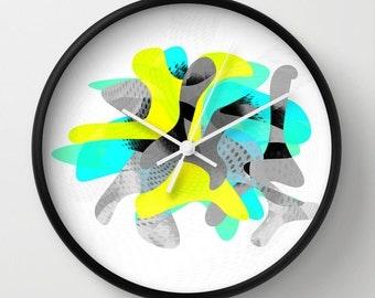 Modern Wall Clock, Modern Clock, Abstract Art Clock, Wall Decor,  Modern Art Clock, Home Decor, Abstract Art Wall Clock, Graphic Wall Clock