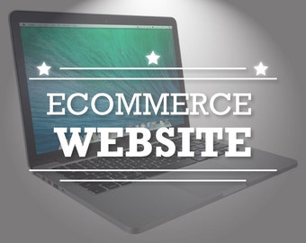 Ecommerce Website Design- Shopping Website- Building a Website