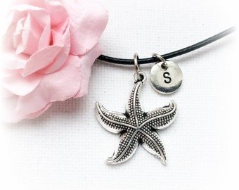 Starfish necklace, starfish jewelry, beach necklace, kids necklace, childrens jewelry, boho necklace, ocean necklace, beach, boho,SPLCINSTF1